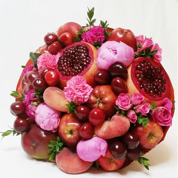 Букет из фруктов Черри-берри