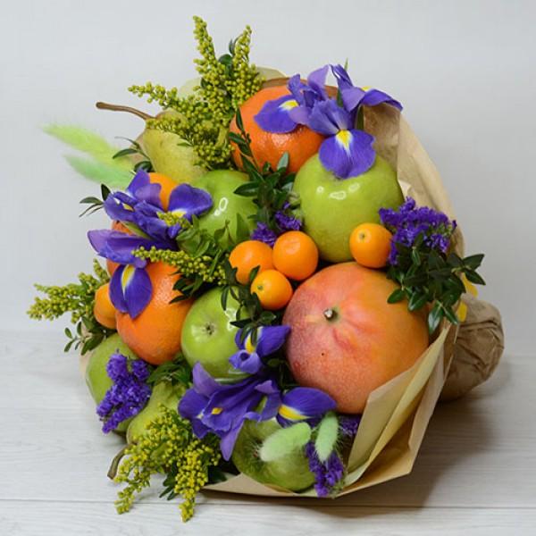 Букет из фруктов Ирис-сюрприз
