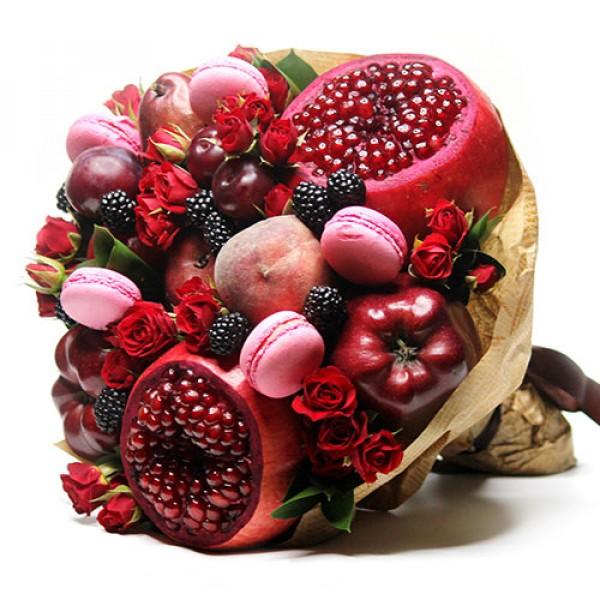Букет из фруктов Романтический каприз