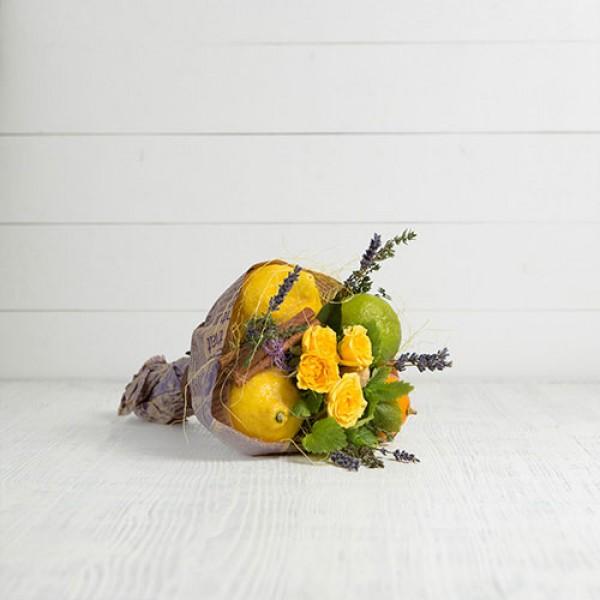 Букет из фруктов Чайный микс