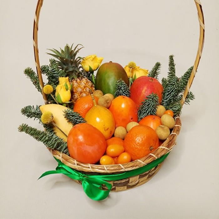 поздравления к подарку ваза с фруктами