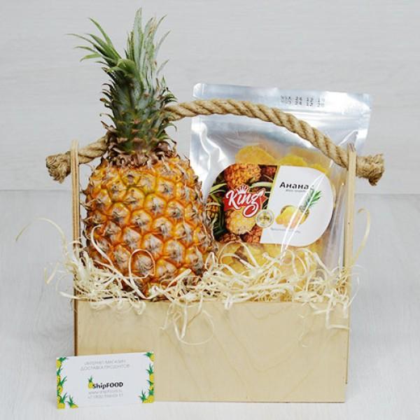 Кинг ананас набор подарочный в ящике