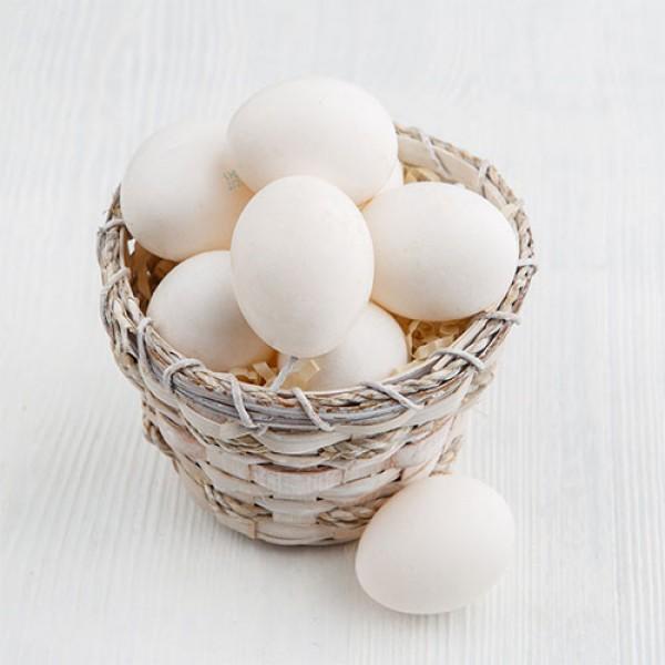 Яйца белые куриные Недюревка 10 шт