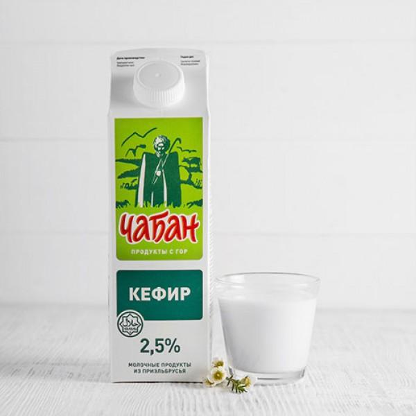 Кефир Чабан 2,5% 900г