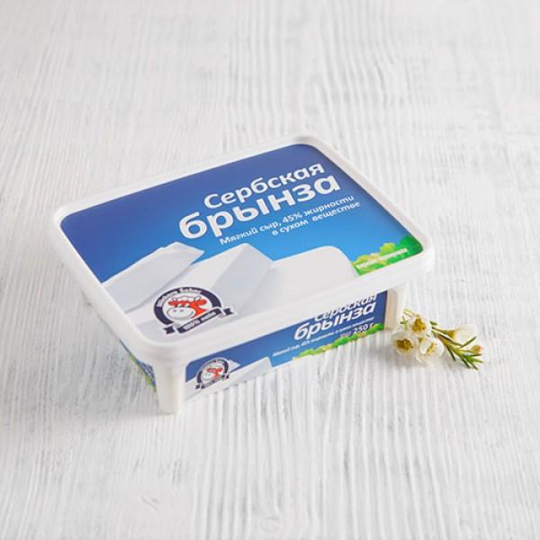 Сыр Сербская брынза 45% 250г