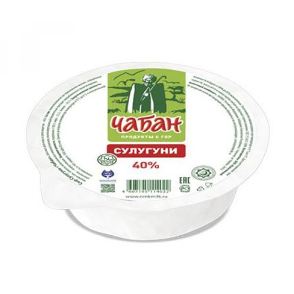 Сыр сулугуни Чабан 40% ~500г
