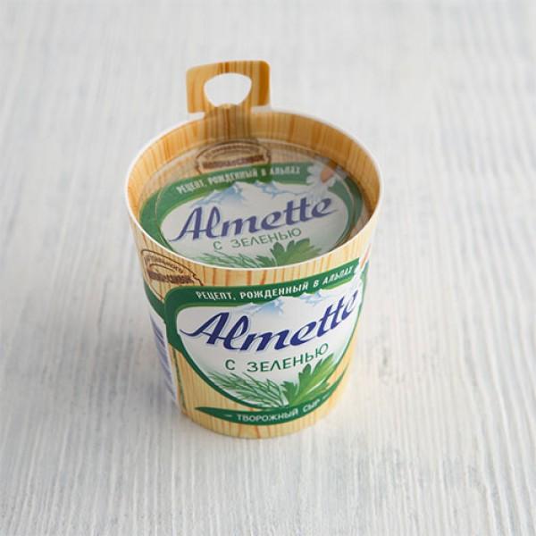 Творожный сыр Almette с зеленью