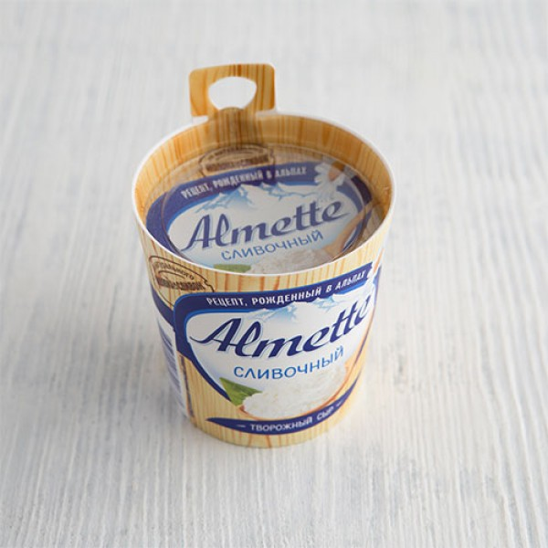 Творожный сыр Almette сливочный
