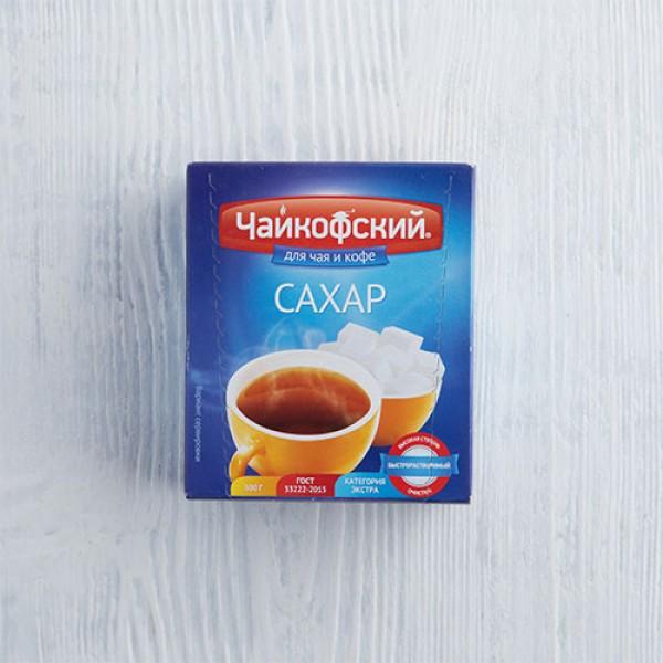 Сахар белый кусковой Чайковский 500 г